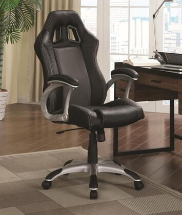 "Coaster 800046 26 1/2"" Adjustable Contemporary Office Chair"
