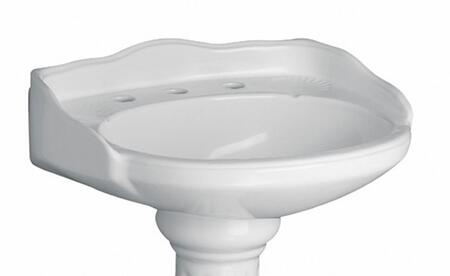 Barclay B3654WH White Bath Sink