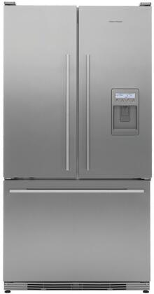 Fisher Paykel RF195ADUX Active Smart Series Counter Depth French Door Refrigerator with 19.5 cu. ft. Total Capacity 3 Glass Shelves |Appliances Connection