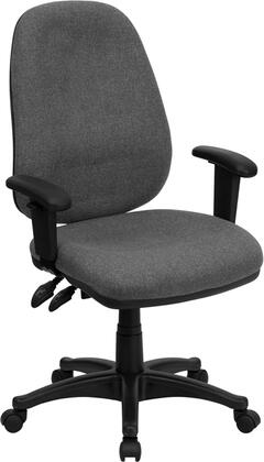 """Flash Furniture BT661GRGG 25.5"""" Adjustable Contemporary Office Chair"""