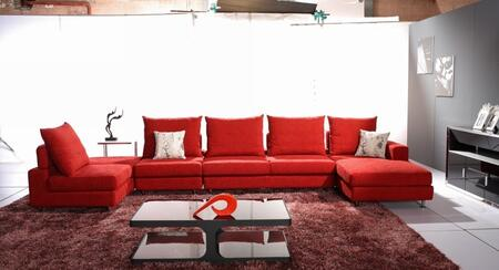 VIG Furniture VGHOTG10C  Sofa and Chaise Fabric Sofa