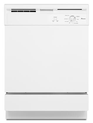 Amana ADB1000AWW  Built-In Full Console Dishwasher with in White