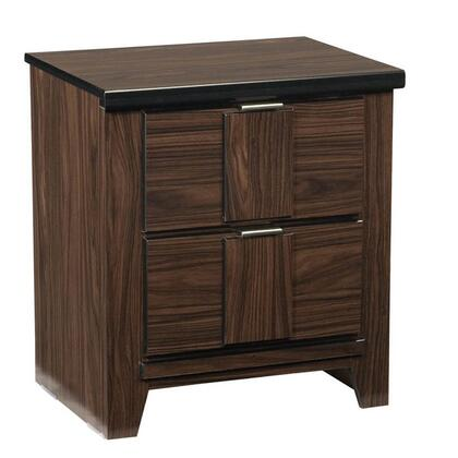 Standard Furniture 56657 Carlyle Series Rectangular Wood Night Stand