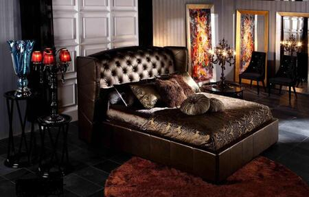 VIG Furniture AW218180CK Royal Series  California King Size Platform Bed