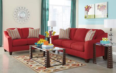 Signature Design by Ashley 95801QSSL3TR2L Hannin Living Room
