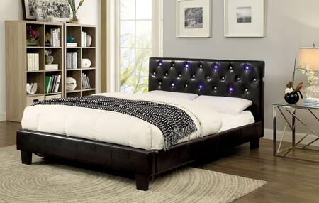 Furniture of America CM7431QBED Azaleh Series  Queen Size Platform Bed