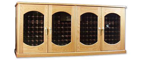 "Vinotemp VINO400CREDLEXWP 88"" Wine Cooler"
