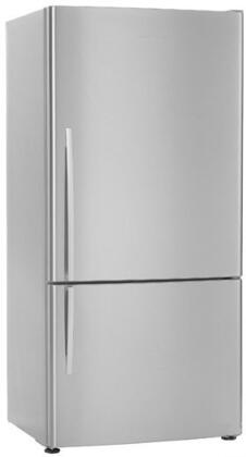 Fisher Paykel E522BRX Active Smart Series Counter Depth Bottom Freezer Refrigerator with 17.3 cu. ft. Total Capacity 4.9 cu. ft. Freezer Capacity 0 Glass Shelves