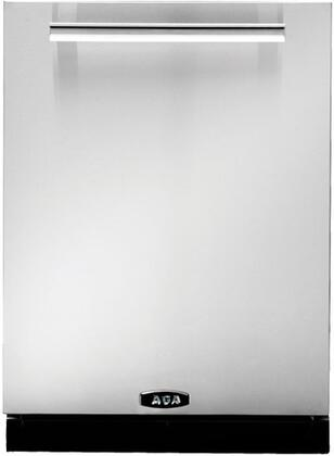 "AGA AMPROTTDWSS 24"" Professional Series Built In Fully Integrated Dishwasher with 15 Place Settings Place Settingin Stainless Steel"