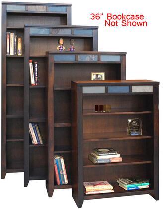 Legends Furniture FC6636DNCBrentwood Series Wood 2 Shelves Bookcase