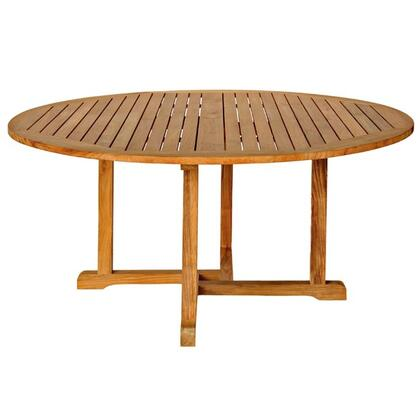 Three Birds Casual RD Inch Contemporary Dining Table - 60 inch conference table