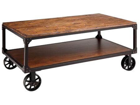 Stein World 12354 Antique Brown Casual Table
