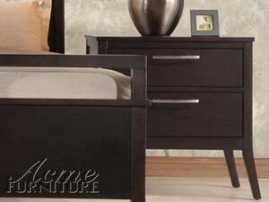 Acme Furniture 20113 Boardwalk Series Rectangular Wood Night Stand