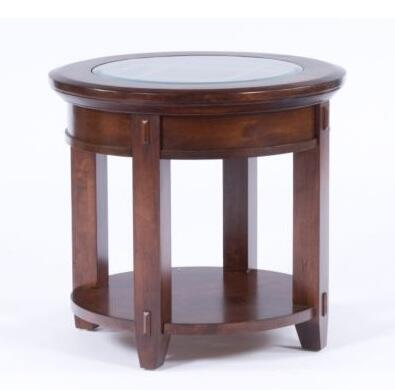 Broyhill 4986000 Vantana Series Traditional Round End Table |Appliances Connection