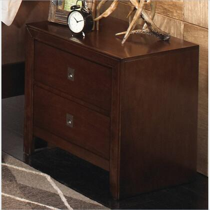 Powell 203028  Rectangular Wood Night Stand