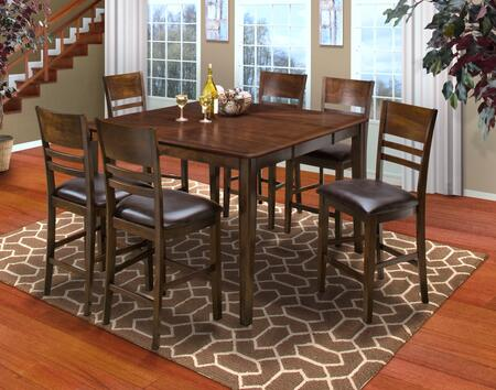 New Classic Home Furnishings 4015011HCCC Latitudes Dining Ro