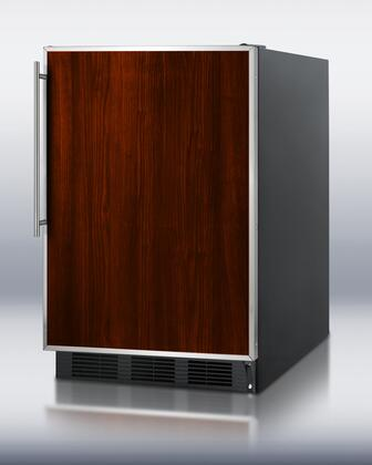 Summit FF6B7IF  Built In / Freestanding  Refrigerator with 5.5 cu. ft. Capacity,  Field Reversible Doors