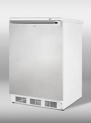 "Summit VT65ML7SSHH 24"" Freestanding Freezer 