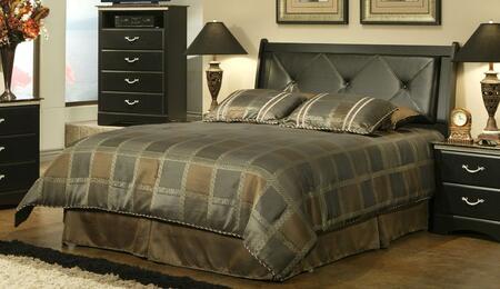 Sandberg 403FF La Jolla Morena Series  Queen Size Sleigh Bed