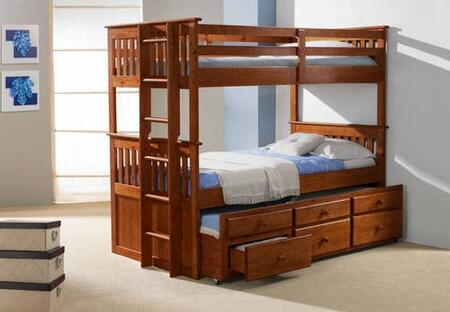 Donco 133E  Twin Size Bunk Bed