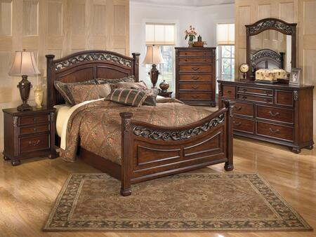 Milo Italia BR590KPBDMN Villegas King Bedroom Sets