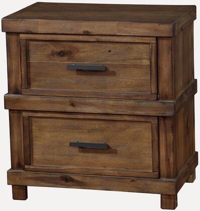 Furniture of America CM7691N Baddock Series  Night Stand