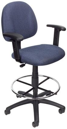 """Boss B1616BE 25"""" Adjustable Contemporary Office Chair"""