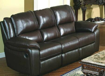 "Yuan Tai BA6636S Baxter 85"" Leather Match Sofa"