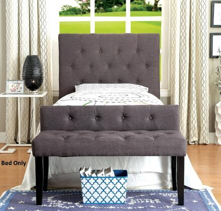 Furniture of America CM7200LBTBED Leeroy Series  Twin Size Bed