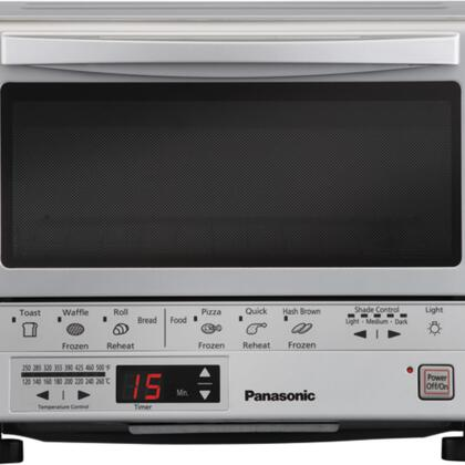 Picture of FlashXpress NBG110P Toaster Oven with Double Infrared Heating  Auto Cook Menus  Digital Timer  Temperature Settings  Reminder Beep  Interior Light  Hinged Door