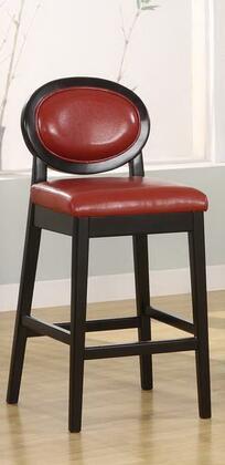 Armen Living LC7015BARE26 Residential Leather Upholstered Bar Stool