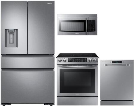 Samsung 979510 4 piece Stainless Steel Kitchen Appliances Package