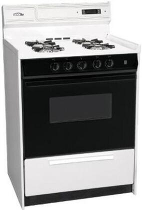 "Summit WNM6307DFK 24"" Gas Freestanding Range with Sealed Burner Cooktop, 2.9 cu.ft. Primary Oven Capacity, in White"