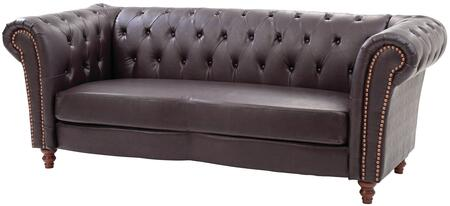 Glory Furniture G751S  Stationary Faux Leather Sofa