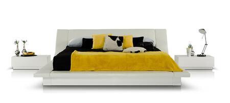 VIG Furniture VGKCPOLARQN Modrest Polar Queen Bedroom Sets