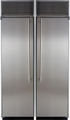 Marvel 707570 Side-By-Side Refrigerators