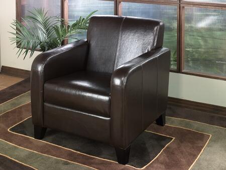 Armen Living LCMS0011BL 1400 Series  in Black