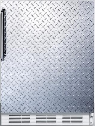 """AccuCold FF6xADA 32"""" FF6ADA Series ADA compliant Freestanding Compact Refrigerator with 5.5 cu. ft. Capacity, Interior Lighting, Door Storage and Automatic Defrost:"""