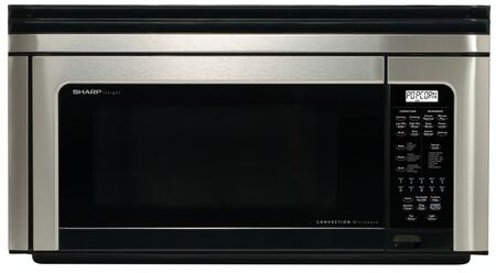 Sharp R1880LS 1.1 cu. ft. Capacity Over the Range Microwave Oven |Appliances Connection