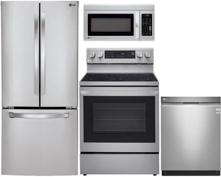 LG 742058 Kitchen Appliance Packages