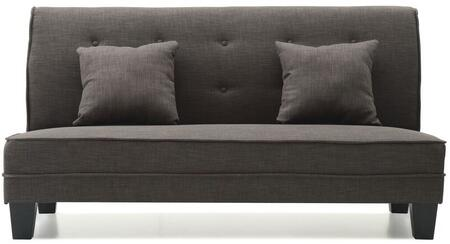 Glory Furniture G412S Newbury Series Fabric Stationary Loveseat