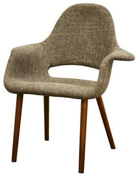Wholesale Interiors DC594TAUPE Forza Series  Accent Chair