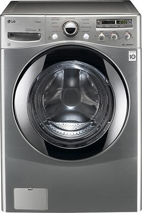 "LG WM2655HVA 27"" Steamwasher Series Front Load Washer |Appliances Connection"