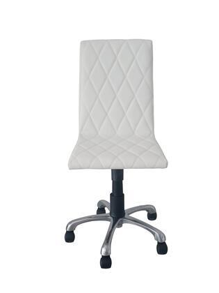 Whiteline Julian julian office chair white 1