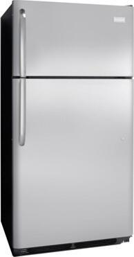 Frigidaire FFHT1800PS Freestanding Top Freezer Refrigerator with 18.3 cu. ft. Total Capacity  4.1 cu. ft. Freezer Capacity