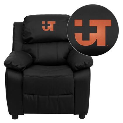 Flash Furniture BT7985KIDBKLEA41107EMBGG Childrens Bonded Leather Wood Frame  Recliners