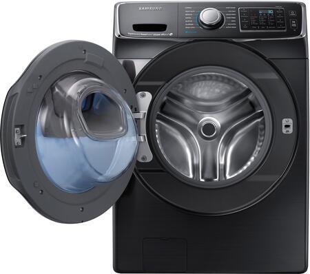 Samsung Wf50k7500av 27 Inch Black Stainless Steel Series Black