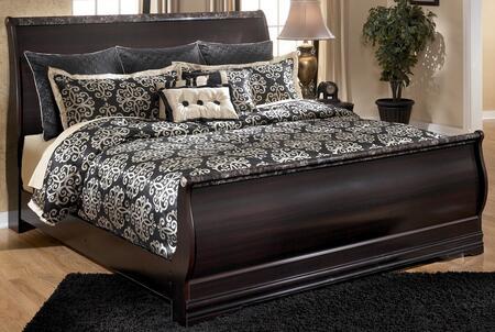 Milo Italia BR263676991 Ferrell Series  King Size Sleigh Bed