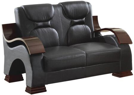 Glory Furniture G483L Faux Leather Stationary Loveseat