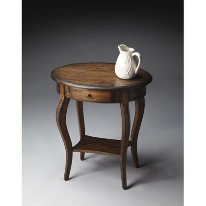 """Butler 05322XX 28"""" Masterpiece Collection Wide Oval Accent Table:"""